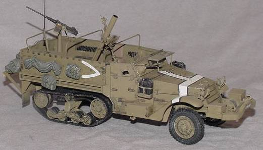 M3 Halftrack Mortar Carrier