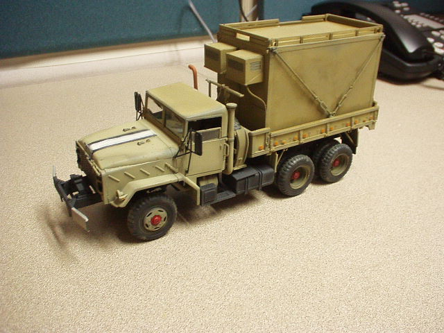 M925 5t Shelter Truck